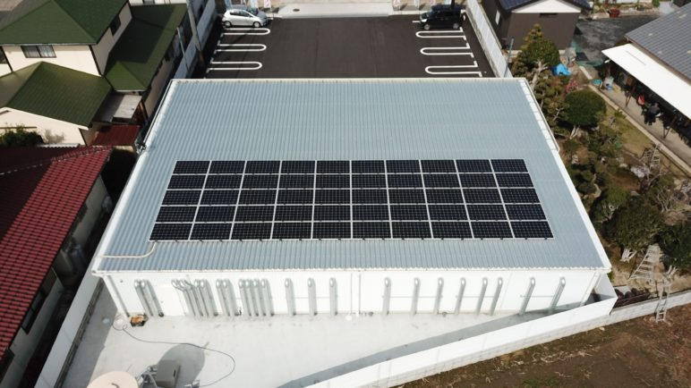売電型太陽光発電